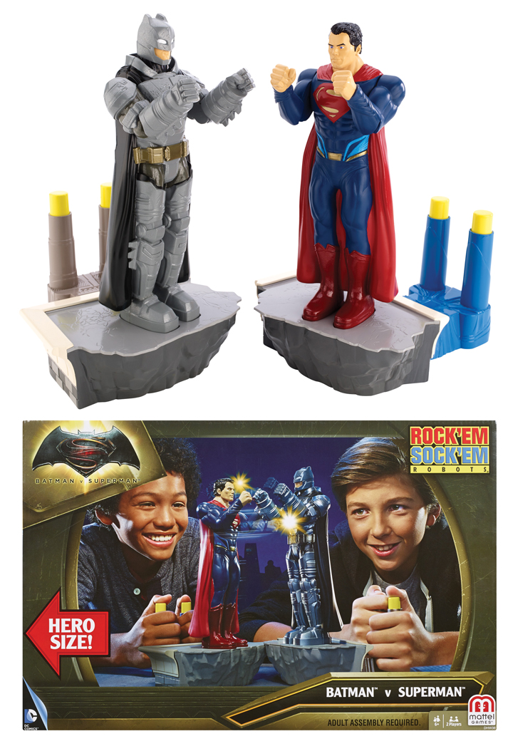Rockem Sockem Batman Vs. Superman 16 in.