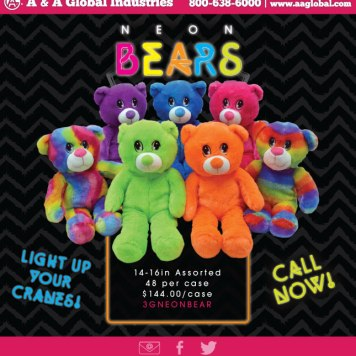 TRR #35 A&A Global Neon Bears Pic 5-1-16