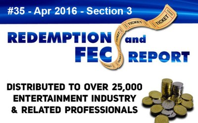 Top 79 Ranked Revenue Generating Games – The Redemption & Family Entertainment Center Report – April 2016