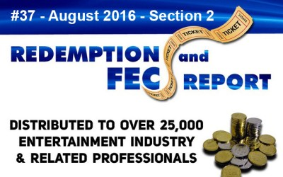 Top 79 Ranked Revenue Generating Games – The Redemption & Family Entertainment Center Report – August 2016