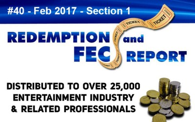 The Redemption & Family Entertainment Center Report – February 2017 Section 1