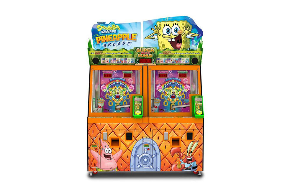 SpongeBob Metal Coin Chute Replaced to Eliminate Coin Jams