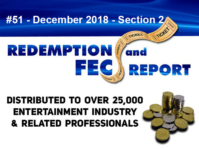 The Redemption & Family Entertainment Center Report – December 2018 Section 2