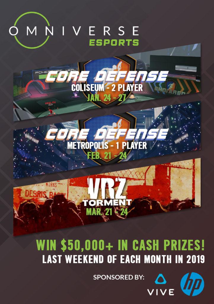 Omniverse VR Arena 3