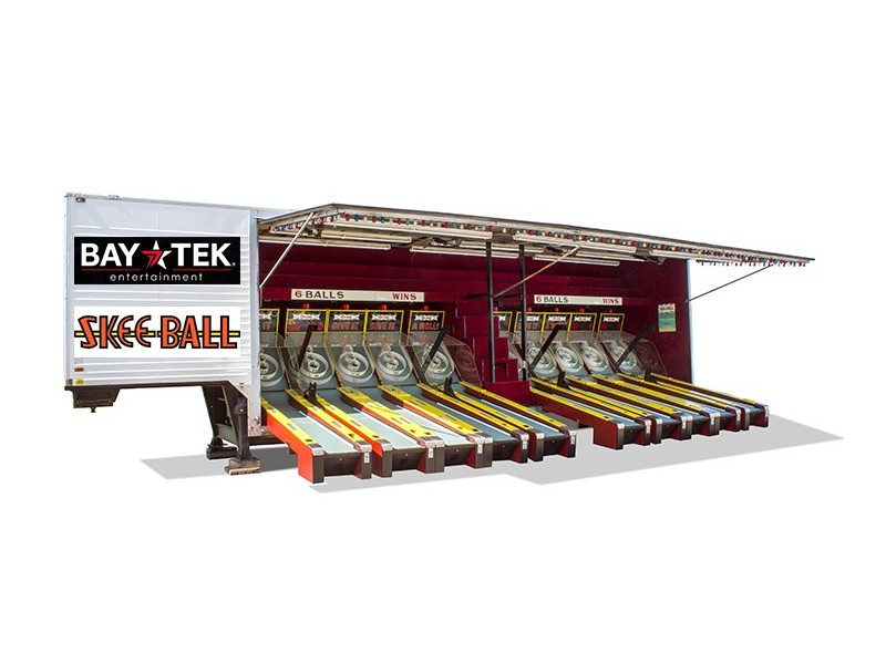 Bay Tek launches new and improved 'Skee-Ball Carnival' alley game at Gibtown