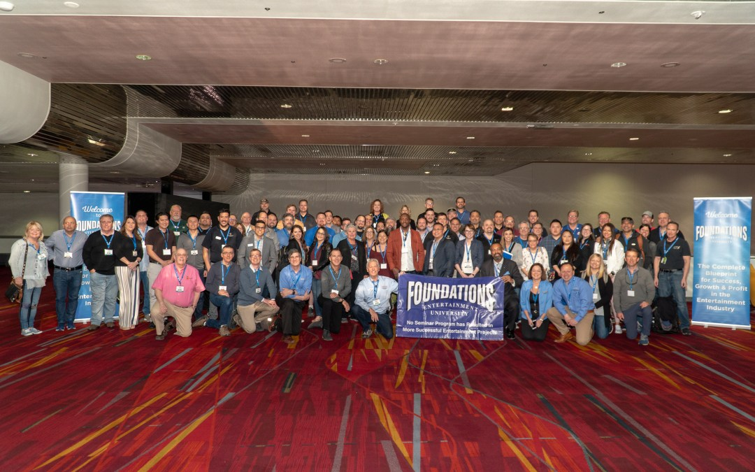Foundations Entertainment University 2.0 Seminar # 48 Hits Grand Slam at Amusement Expo Las Vegas
