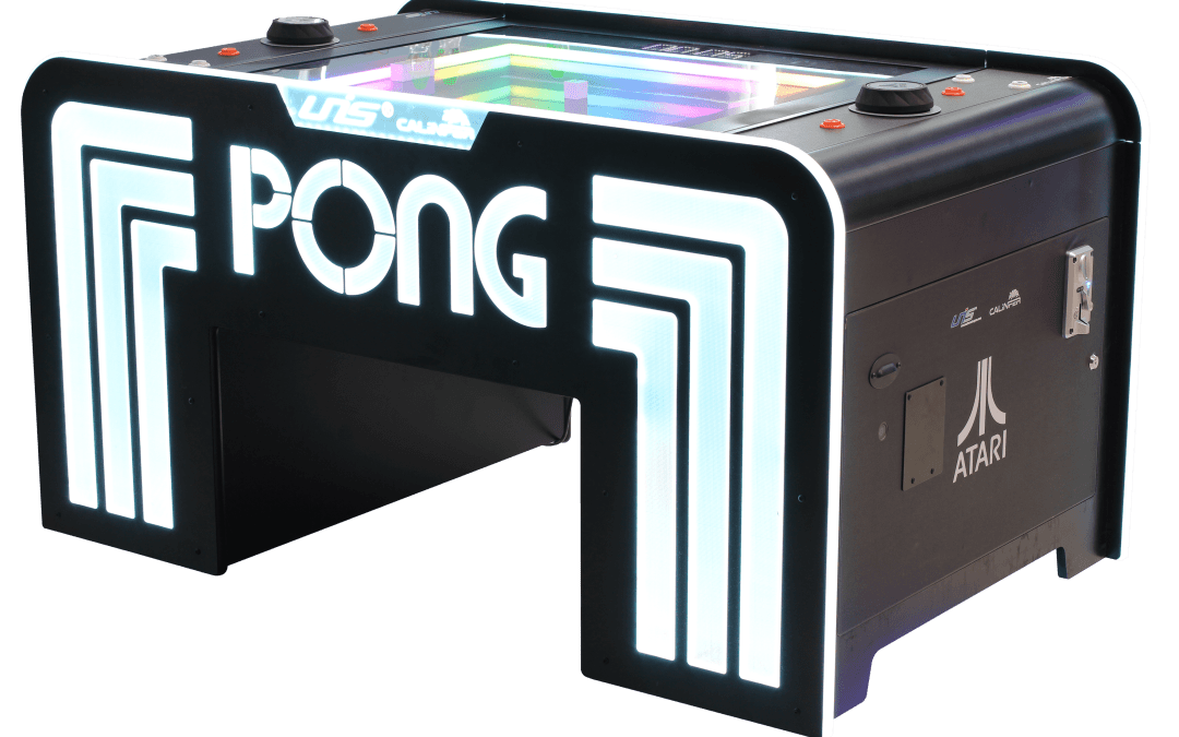UNIS Releases Atari Pong Table with Ticket Dispensers