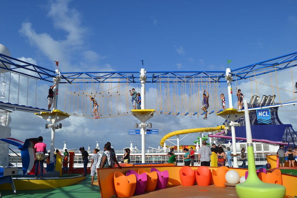 Ropes Courses Incorporated & Cruise Ships – A Perfect Match!