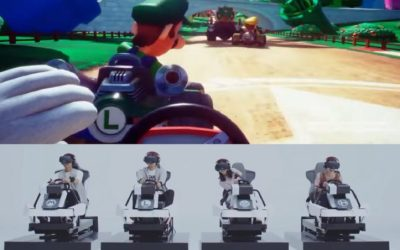 Mario Kart Arcade GP VR is headed to VR Zone Portal in Irvine California