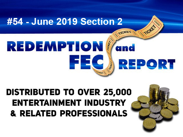 The Redemption & Family Entertainment Center Report – June 2019 Section 2