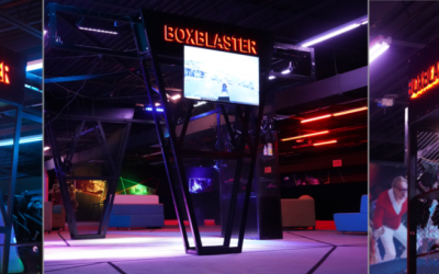 Boxblaster 'Minibox' Virtual Reality Arena is a hit at Bowl Expo 2019