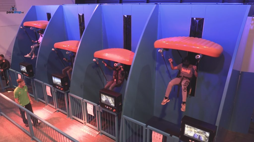 ParadropVR is coming to Malasyia's Genting Highlands Resort Sky VR Section this Fall