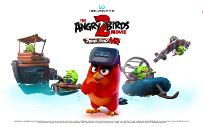 Hologate VR's 'The Angry Birds Movie 2' is previewing at Gamescom 2019 (Aug 20-24)