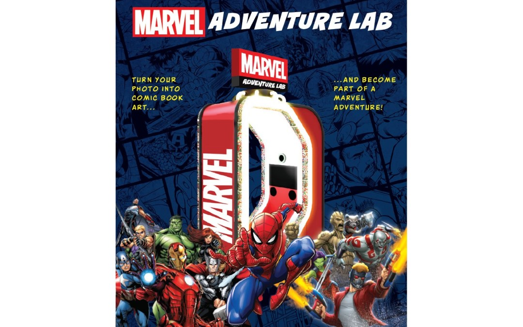 Face Place Marvel Adventure Lab New Comic Book Content is Automatically Installed!