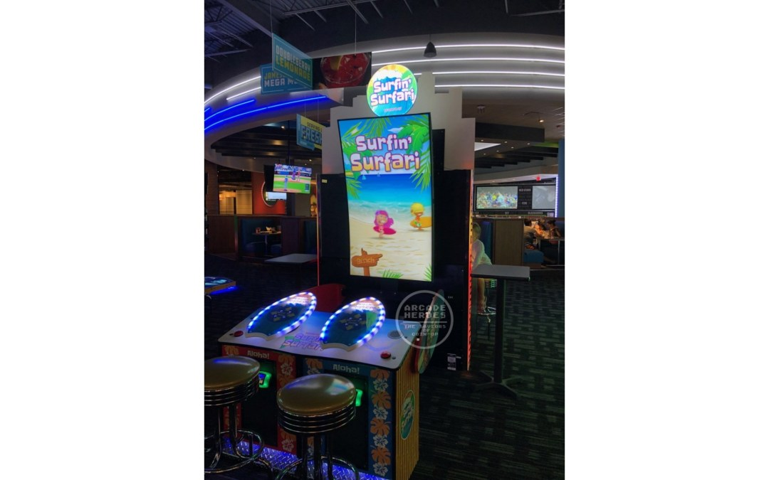 Surfin' Surfari/The Big Kahuna Videmption Surfing Game Spotted On Test