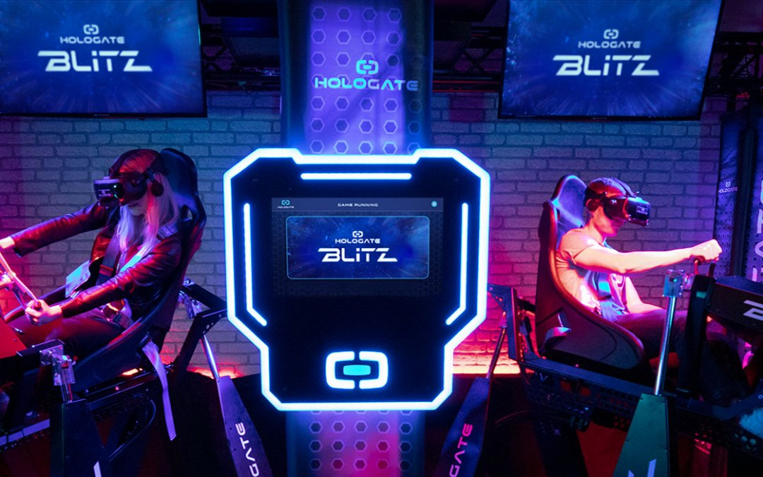Hologate VR Debuts 'Blitz' VR Motion Platform and Announces 3 New Experiences