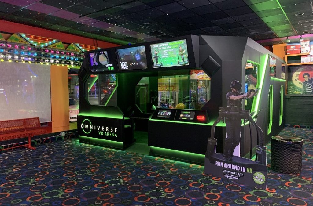 Virtuix Omni VR Arena Makes Debut at Rockin' Raceway in Pigeon Forge TN