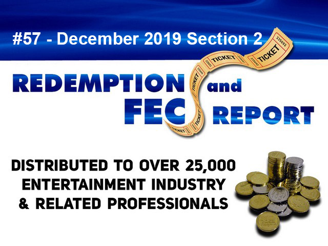 The Redemption & Family Entertainment Center Report – December 2019 Section 2