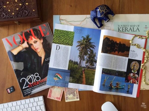 Artículo de Kerala en Vogue México y Latinoamérica