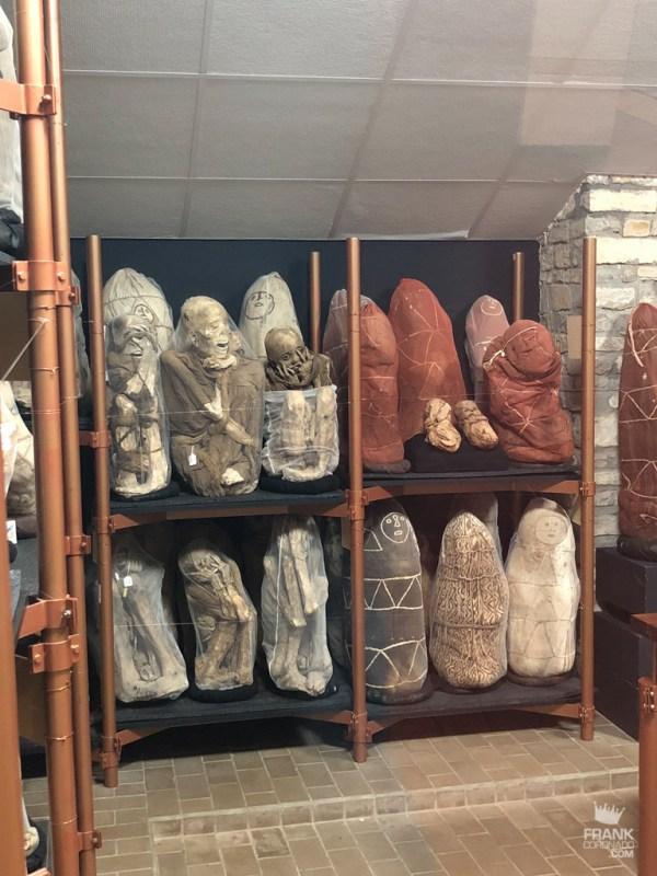 momias del museo leymebamba rescatadas del lago de los condores
