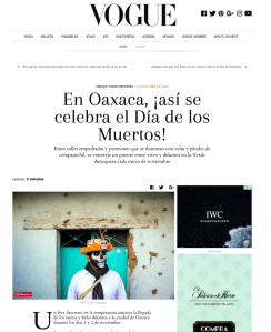 Frank Coronado Vogue mexico