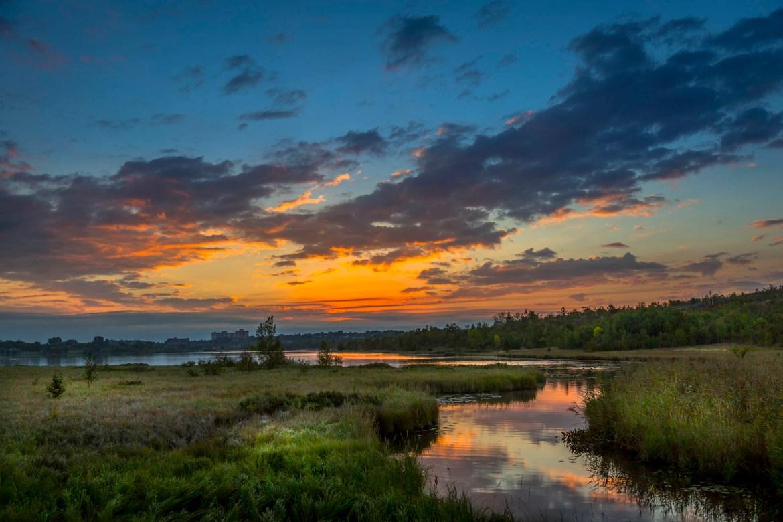 Sunrise Over Robinson Lake