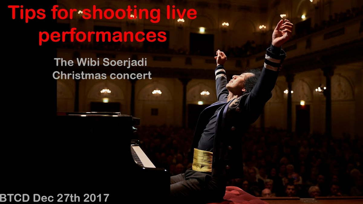 Tips for shooting live concerts and the Wibi Soerjadi