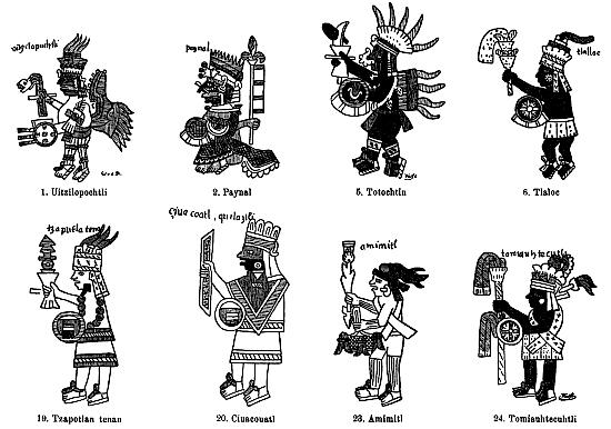 From Historia General de las cosas de Nueva España