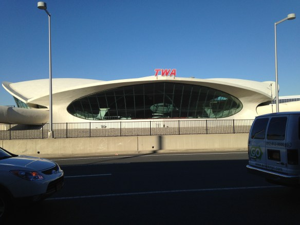 The iconic TWA Terminal at JFK