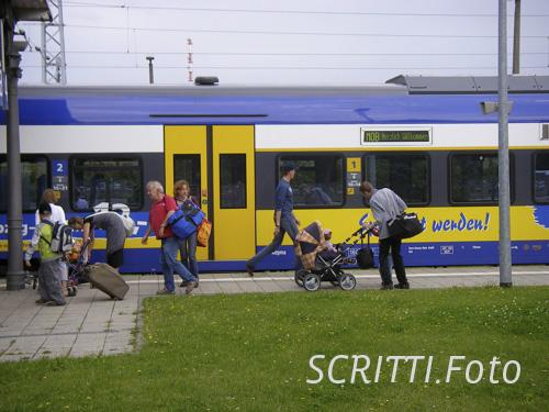 InterConnex von Veolia Verkehr in Warnemünde