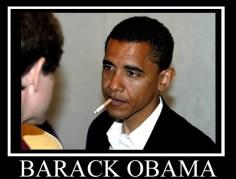Obama raucht