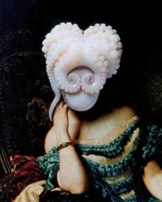 Octopus Portrait, © Yumiko Utsu, from the Victoriana: The Art of Revival exhibition
