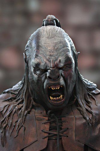 Following this reasoning, the Uruk-hai from The Lord of the Rings are coded as 'monsters' because of Western culture's negative associations with muscularity, black skin, and animalistic features.