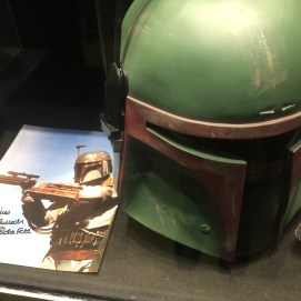 A signature from Boba Fett himself