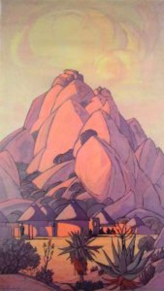 'Matalas Mountain' by Jacob Pierneef