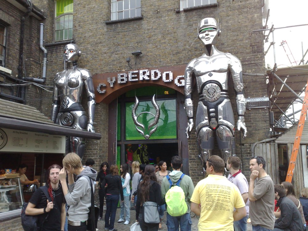 Cyberdog Rules Camden Stables (1/2)