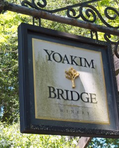 Yoakim Bridge Winery.