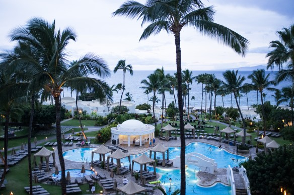 All suites at the Fairmont Kea Lani have ocean views.