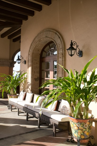 Colonial styles at the Sheraton Hacienda del Mar.