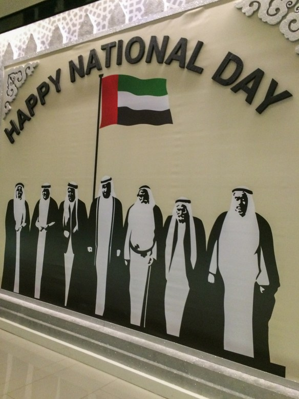 The UAE has tremendous national pride.