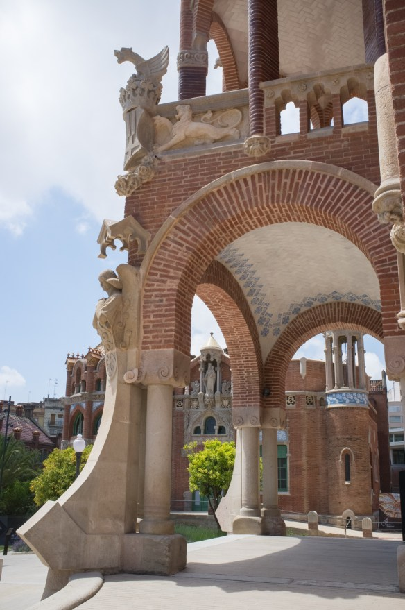 Hospital de Sant Pau, by the architect Montaner.