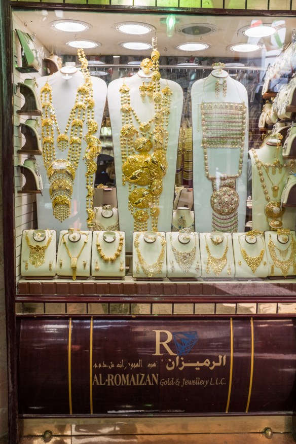 In Dubai's old Gold Souk, all that glitters is, in fact, gold. Selling phony gold here is a very big no, no.