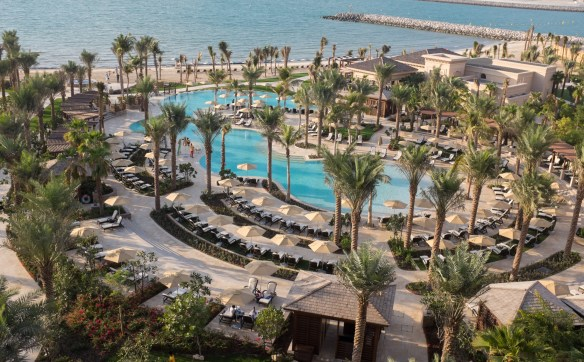 All the rooms at Four Seasons Dubai have dramatic views of the Arabian Gulf.