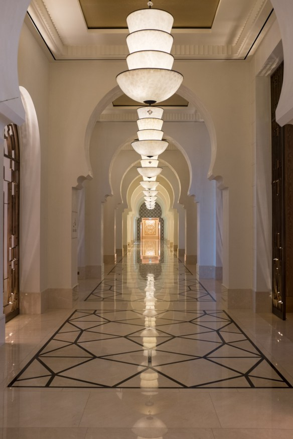 The Arabesque themes carry through Four Seasons Dubai and enhance the character of one's stay.