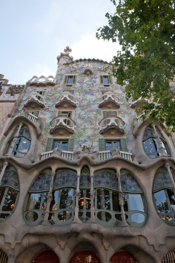 Gaudi masterpieces in Barcelona.