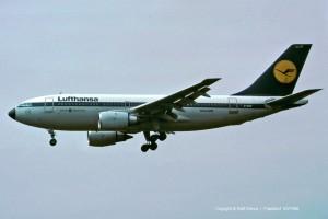 D-AICF Lufthansa Airbus A310-203 | MSN 237