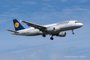 D-AIPT Lufthansa Airbus A320-211 | MSN 117