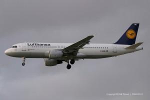 D-AIQE Lufthansa Airbus A320-211 (MSN 209)