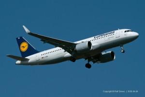 D-AINA Lufthansa Airbus A320-271N | MSN 6801