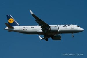 D-AINI Lufthansa Airbus A320-271N | MSN 7710